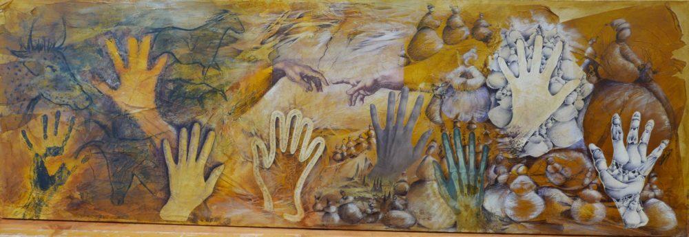Réalisation peinture pariétale - Atelier Mucyol